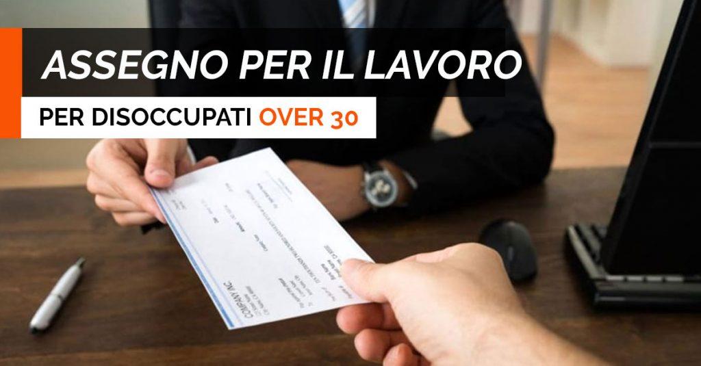 ASSEGNO-LAVORO over 30