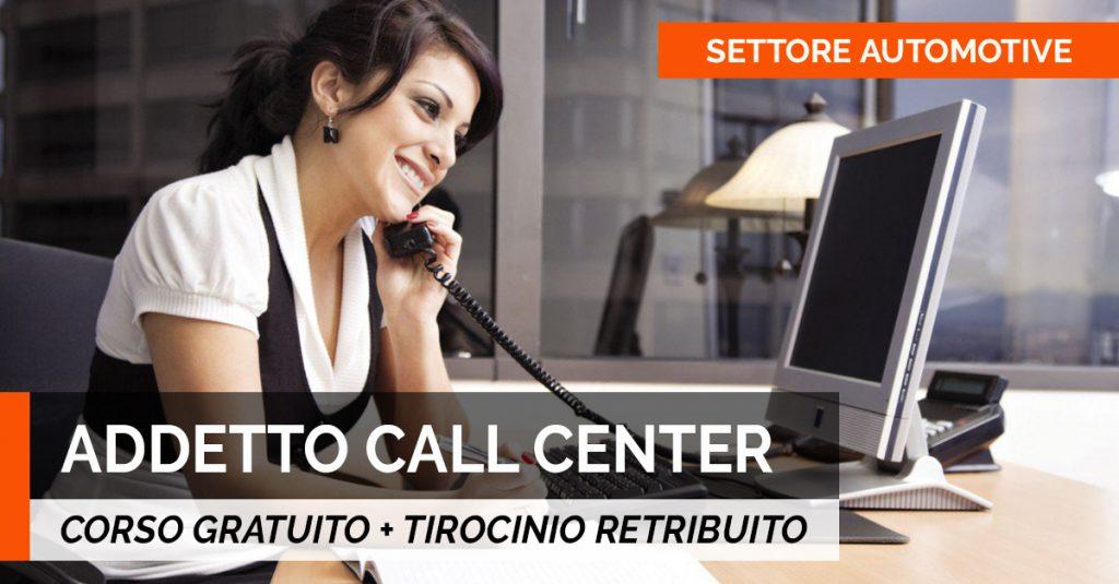 addetto CALL CENTER