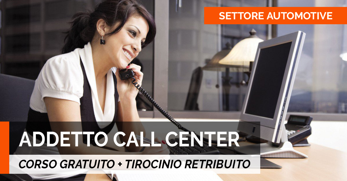 addetto CALL CENTER
