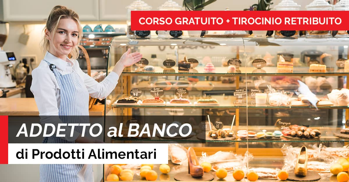 ADDETTO AL BANCO PRODOTTI ALIMENTARI