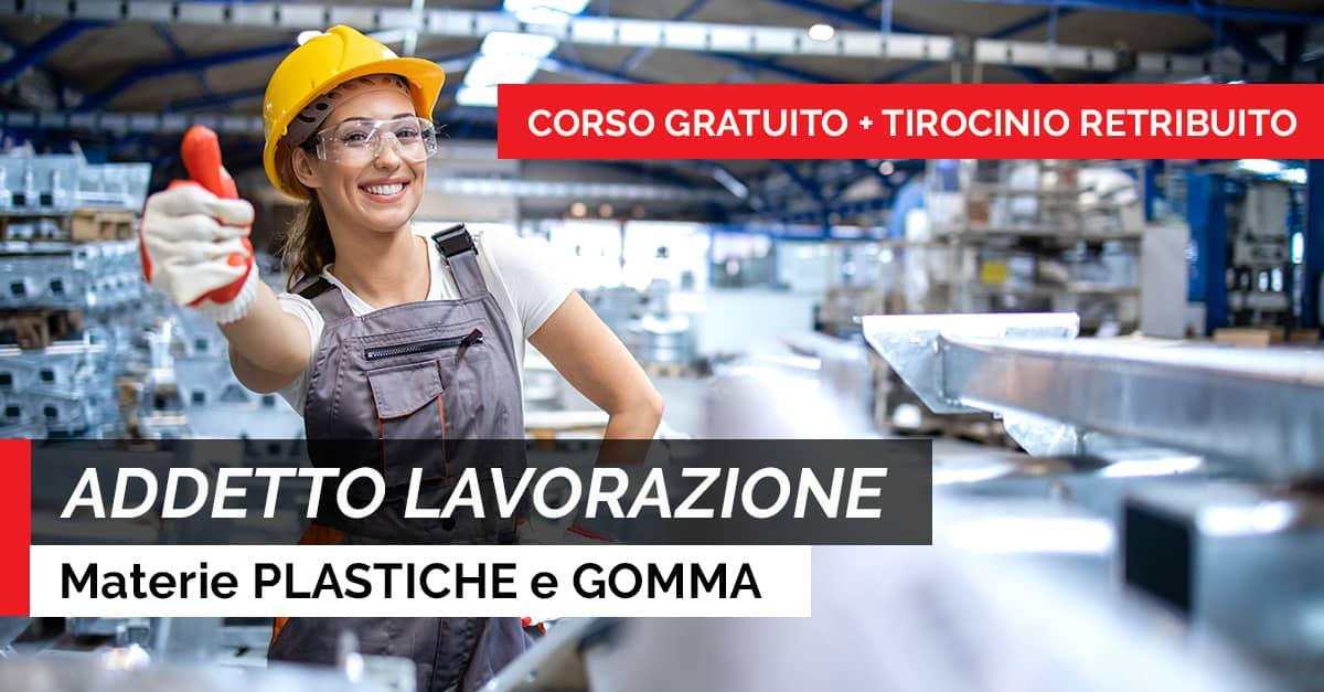 ADDETTO LAVORAZIONE PLASTICA GOMMA
